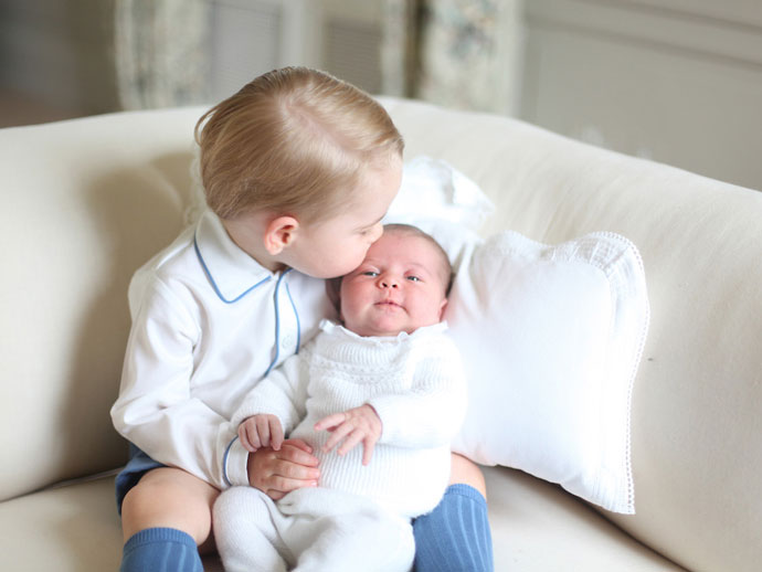 Принц Георг и принцесса Шарлотта