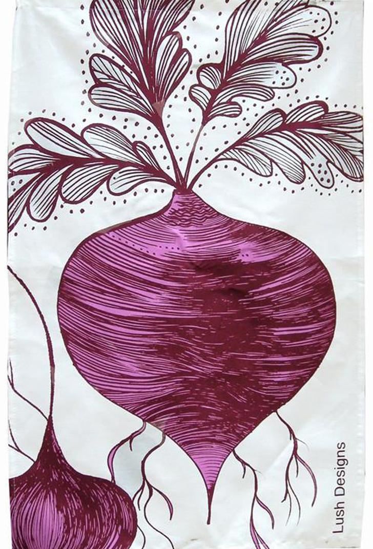 Топ 10: Праздник урожая. Овощи, фрукты и ягоды на предметах декора фото [15]