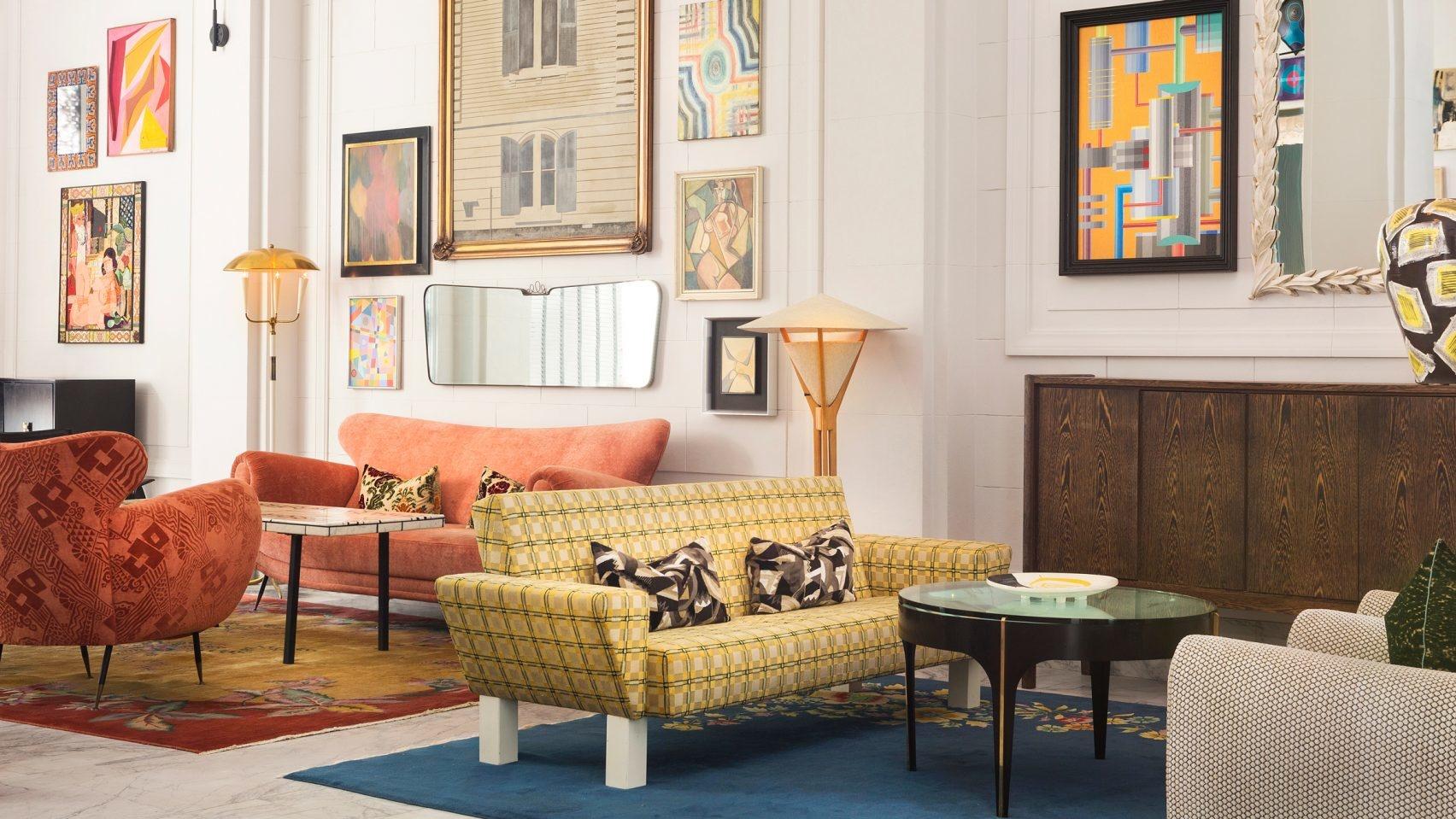 Винтажный look: Келли Уестлер оформила отель в Сан-Франциско (галерея 4, фото 5)