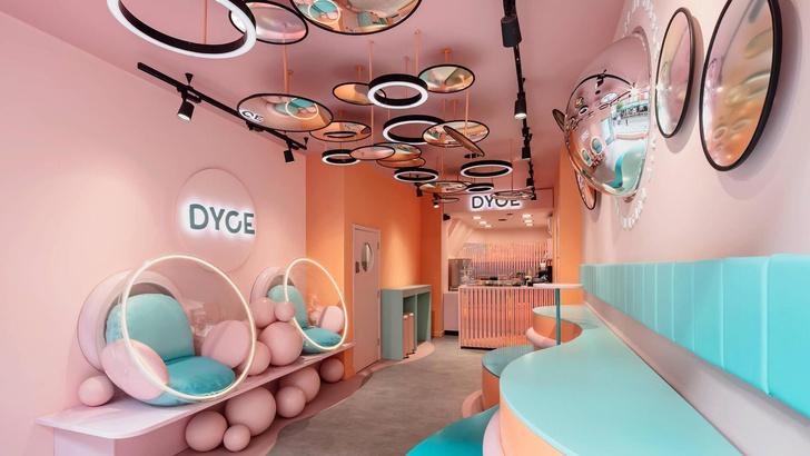 Инстаграмное кафе-мороженое в Лондоне (фото 0)