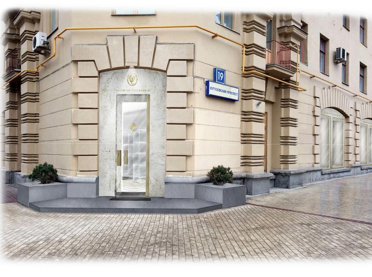 Обновленный бутик Valentin Yudashkin в Москве фото [7]