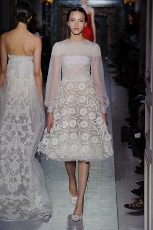 Показ Valentino коллекции сезона Весна-лето 2013 года Haute couture - www.elle.ru - Подиум - фото 480756