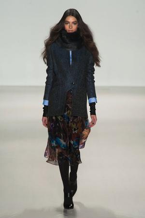 Показ Marissa Webb коллекции сезона Осень-зима 2014-2015 года Prêt-à-porter - www.elle.ru - Подиум - фото 575955