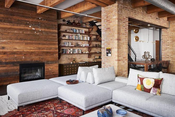 Как сделать интерьер в индустриальном стиле уютнее: 9 идей (фото 0)