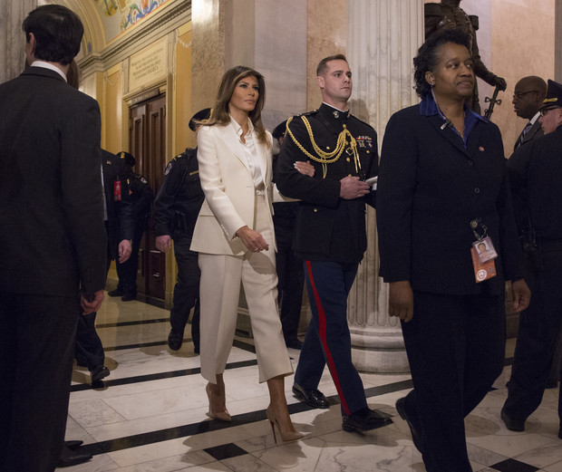 Мелания Трамп нарушила одну из президентских традиций (фото 1)