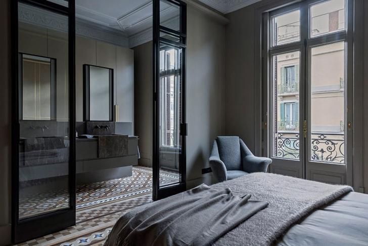 Современная квартира в доме Гауди в Барселоне (фото 7)