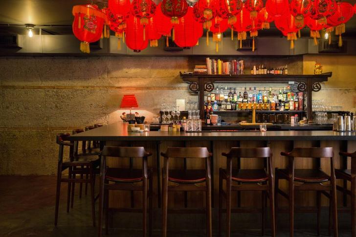 Ресторан в духе Шанхая 1920-х от студии  Sarah Ward Interiors (фото 8)