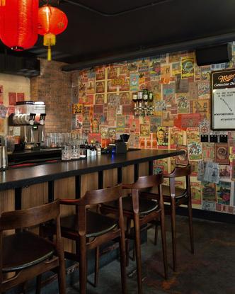 Ресторан в духе Шанхая 1920-х от студии  Sarah Ward Interiors (фото 7.2)