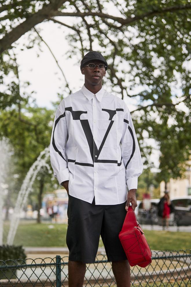 Лучшие стритстайл-образы на мужской Неделе моды в Париже (фото 16)