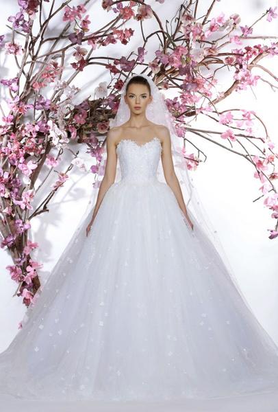 60 пышных свадебных платьев 2015 | галерея [1] фото [46]
