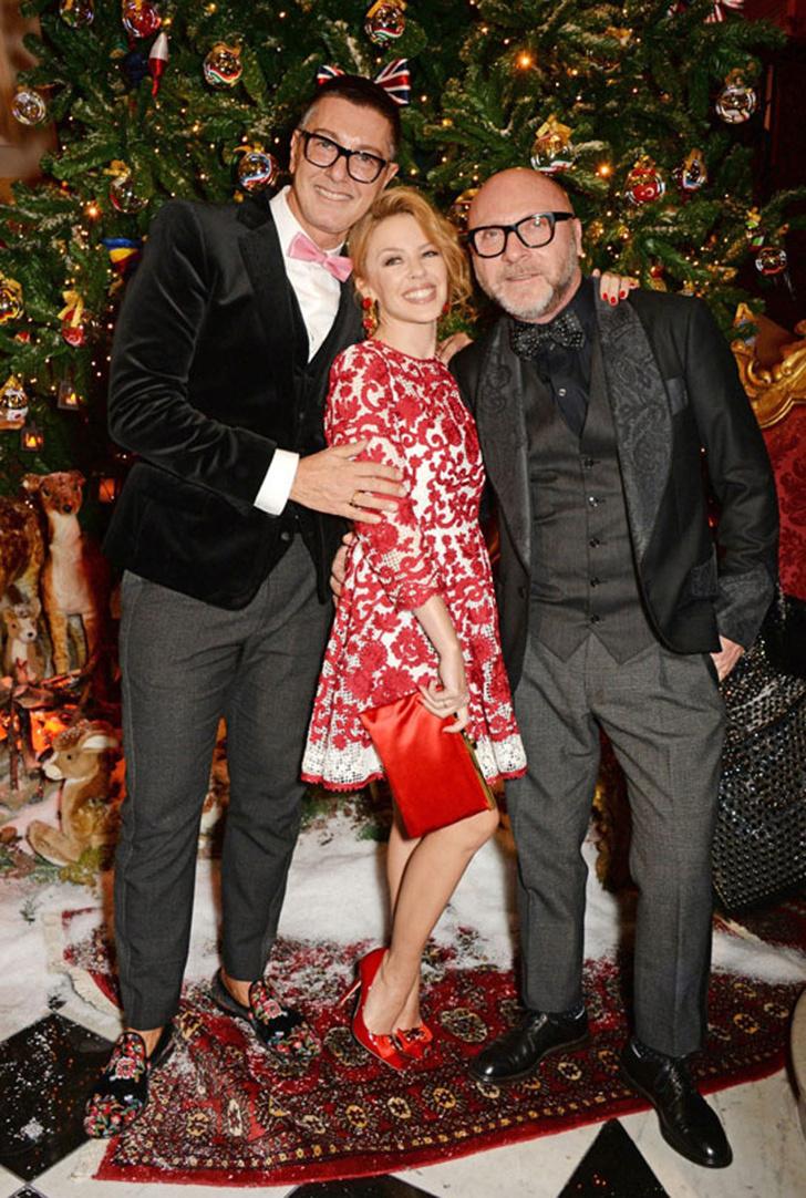 Dolce & Gabbana украсили витрины британского Harrods к Рождеству фото [1]