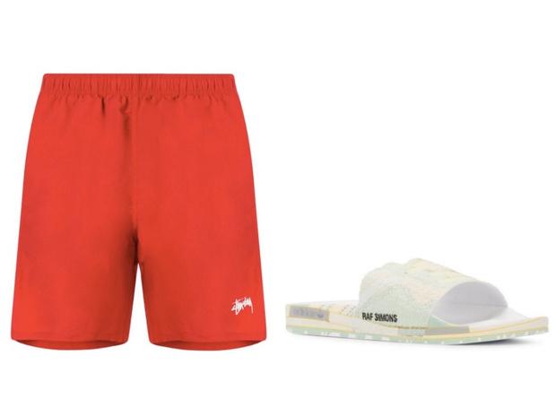 Самое летнее сочетание: шорты + слайдеры (фото 12)
