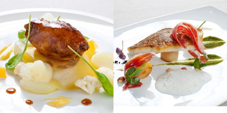 Ресторан Adrian Quetglas Michelin меню