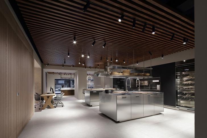Шоу-рум кухонь Arclinea по проекту Антонио Читтерио (фото 0)