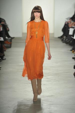 Показы мод Erin Fetherston Осень-зима 2010-2011 | Подиум на ELLE - Подиум - фото 2851