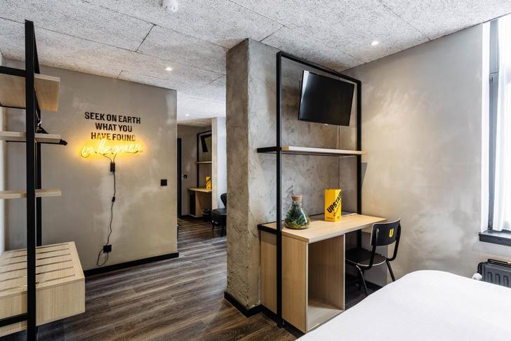 Брутальный отель в Брюгге, вдохновленный стилем Нью-Йорка (фото 12)