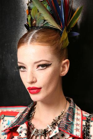Показ Jean Paul Gaultier коллекции сезона Осень-зима 2011-2012 года Haute couture - www.elle.ru - Подиум - фото 278980