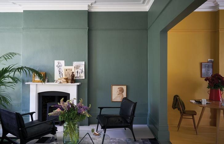Как улучшить интерьер с помощью краски: 10 свежих идей (фото 3)