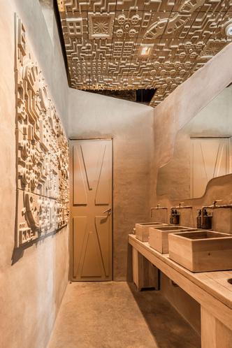 Ресторан с необычным потолком в Мексике (фото 11.1)