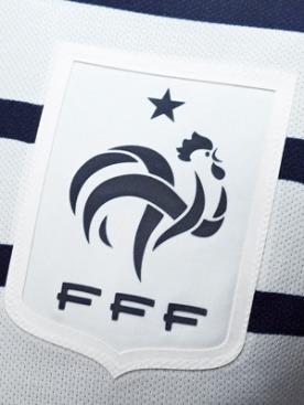 Выездная форма сборной Франции по футболу от Лагерфельда