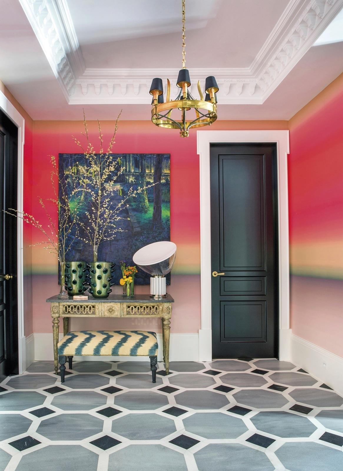 Геометрический рисунок: 15+ интерьеров (галерея 1, фото 1)