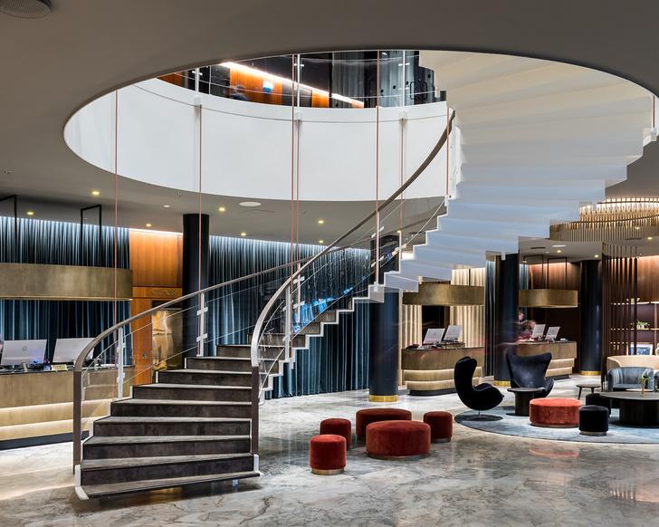В Копенгагене отремонтировали отель по проекту Арне Якобсена (фото 2)