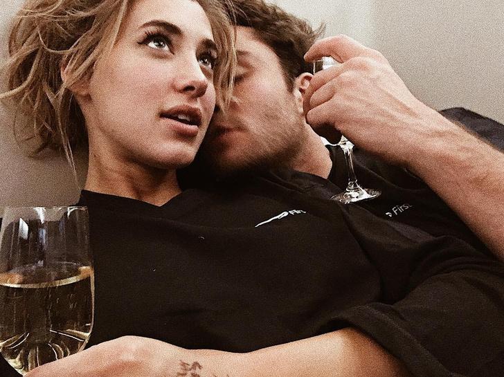 Эд Вествик с девушкой