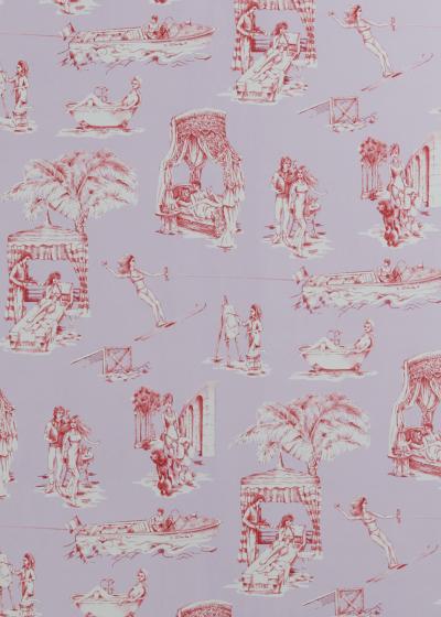 Новая коллекция обоев и текстиля Саши Бикофф (галерея 8, фото 2)