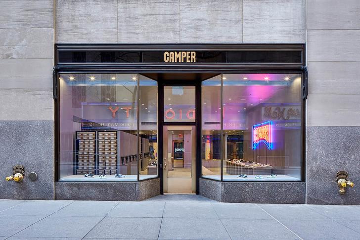 Нью-йоркский бутик Camper по проекту Кенго Кумы (фото 2)