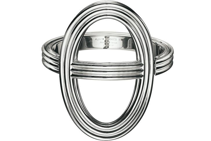 Браслет Chaine d'Ancre, серебро, Hermès.