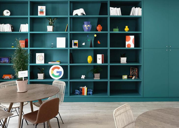 Уютный офис Google в Париже (фото 8)