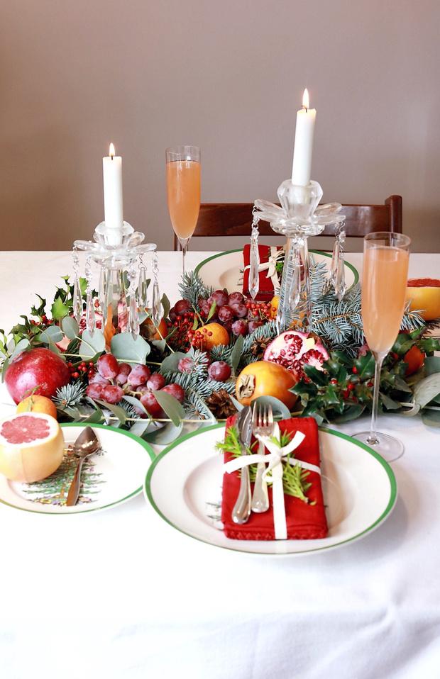 4 варианта новогодней сервировки фото [14]