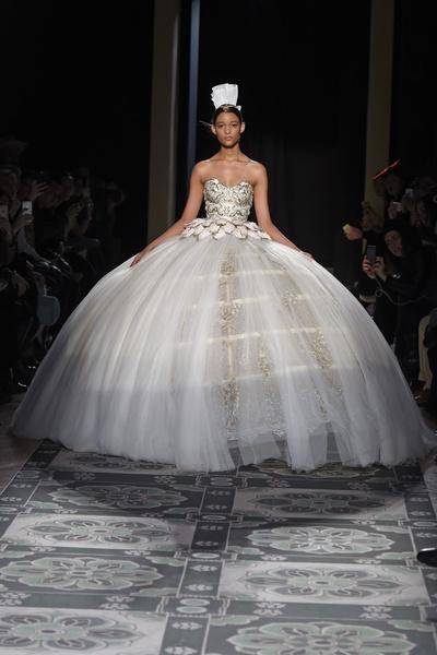 Лучшие свадебные платья из кутюрных коллекций   галерея [1] фото [3]