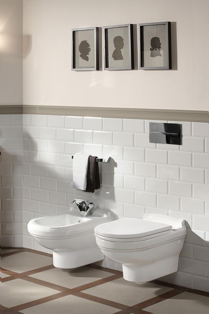 Ванная в стиле ретро: коллекции Amadea и Hommage от Villeroy & Boch | галерея [1] фото [4]
