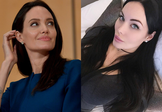 Анджелина Джоли // Вероника Блэк