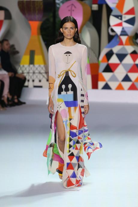 Akris выпустил коллекцию одежды по мотивам творчества Александра Жирара   галерея [1] фото [6]