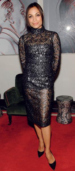 Розарио Доусон в Dolce & Gabbana
