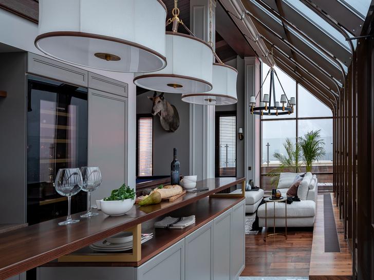 Квартира  240 м² с атмосферой загородного дома (фото 15)