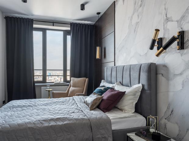 Квартира 65 м² в Москве: современный комфорт с элементами лофта (фото 7)