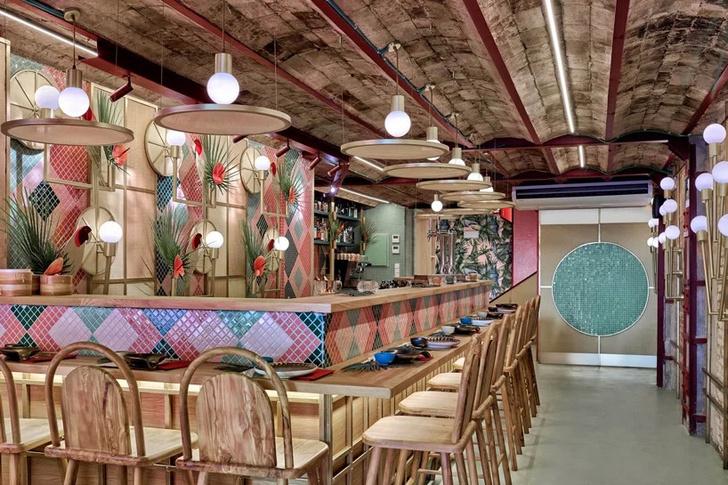 Тропический суши-бар в Валенсии (фото 6)