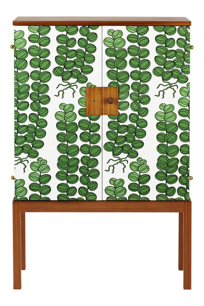Шкаф для посуды 522 Textile Mahogany, Svenskt Tenn, www.svenskttenn.se