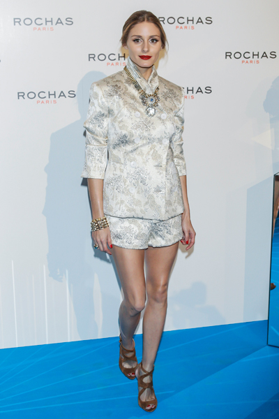Оливия Палермо в костюме Rochas