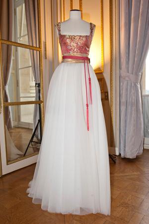 Показ Dilek Hanif коллекции сезона Весна-лето 2013 года haute couture - www.elle.ru - Подиум - фото 479004