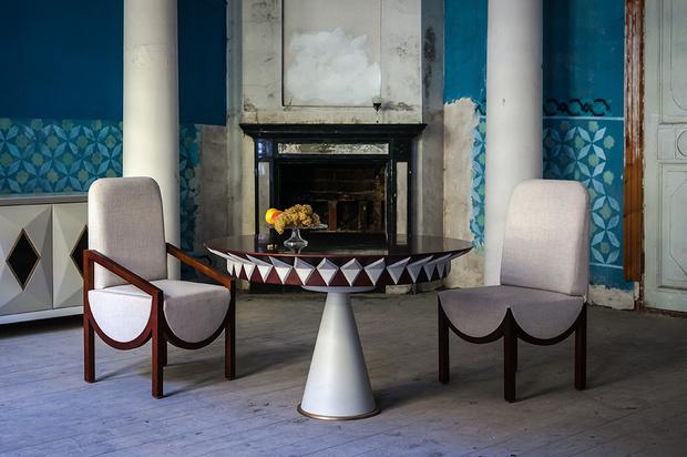 Русское богатство: коллекция мебели Марии Цыпляевой (фото 0)
