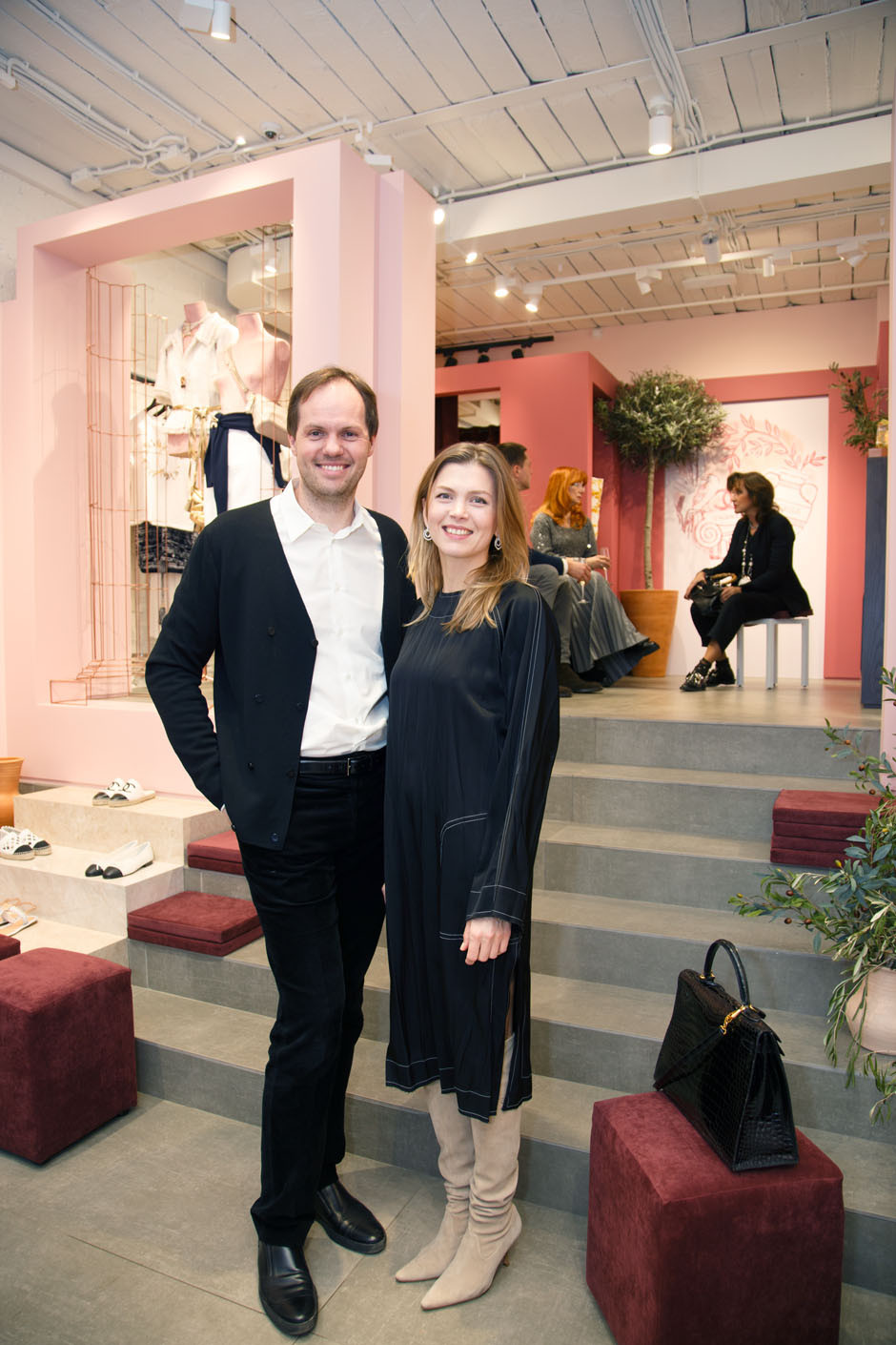 Вечеринка ELLE DECORATION в эфемерном бутике Chanel | галерея [1] фото [3]