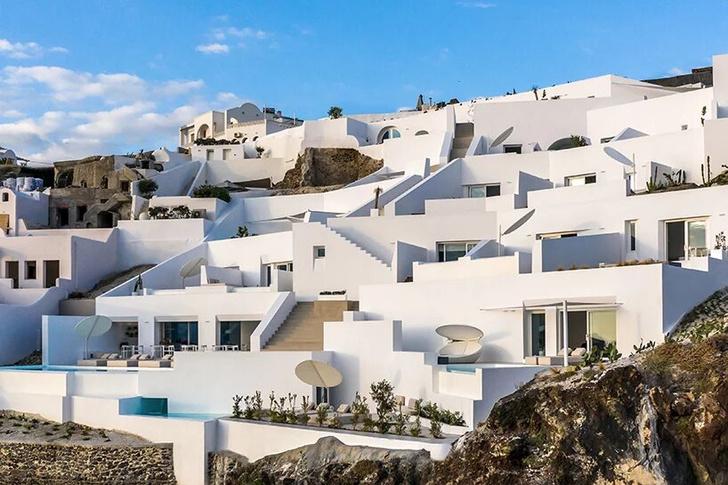 Saint Hotel на острове Санторини по проекту Kapsimalis Architects (фото 0)
