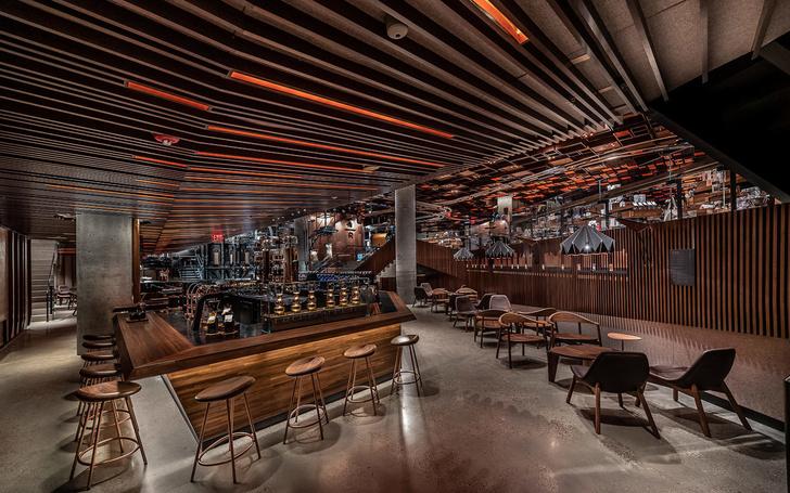 Starbucks в Нью-Йорке: кафе и обжарочный цех (фото 2)
