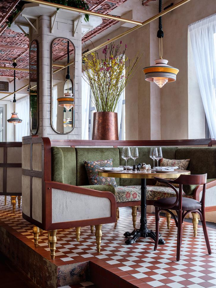 Ресторан Buro в ЦУМе: проект NB Studio (фото 8)