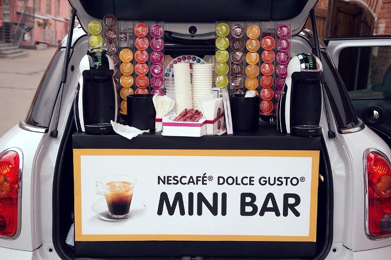 Новая кофемашина от NESCAFÉ Dolce Gusto и MINI | галерея [1] фото [3]