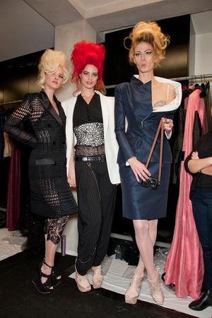 Показ Jean Paul Gaultier коллекции сезона Весна-лето 2012 года Haute couture - www.elle.ru - Подиум - фото 333460